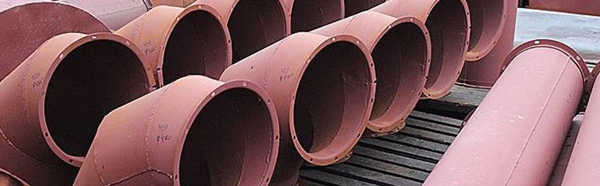 Сварные воздуховоды для систем дымоудаления круглые