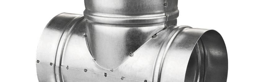 Фасонное изделие — крестовина (круглого сечения)