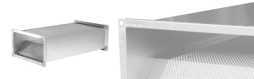 Шумоглушитель прямоугольного сечения для вентиляции