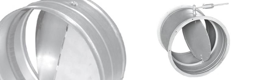Клапан обратный круглый